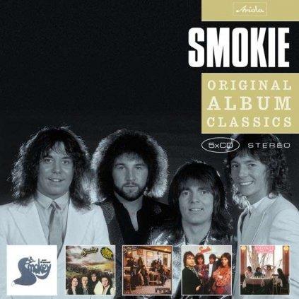VINYLO.SK   SMOKIE - ORIGINAL ALBUM CLASSICS [5CD]