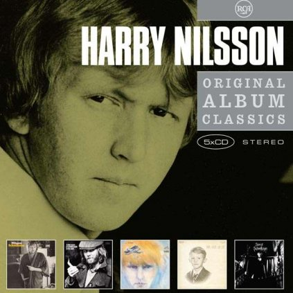 VINYLO.SK | NILSSON, HARRY - ORIGINAL ALBUM CLASSICS [5CD]