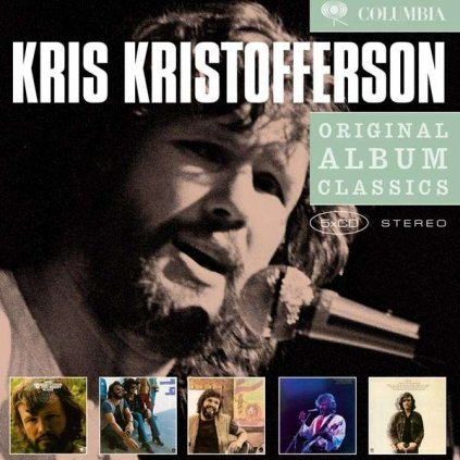 VINYLO.SK   KRISTOFFERSON, KRIS - ORIGINAL ALBUM CLASSICS [5CD]