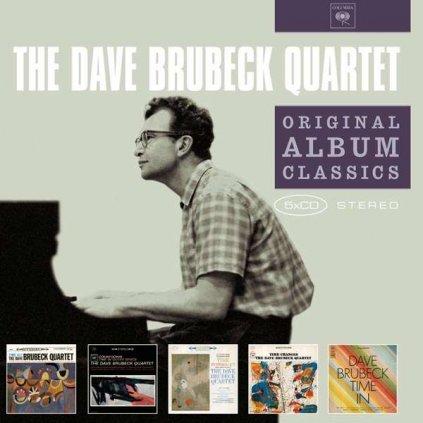 VINYLO.SK | BRUBECK, DAVE - ORIGINAL ALBUM CLASSICS [5CD]
