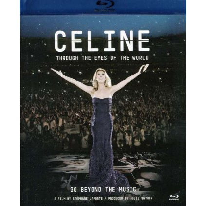 VINYLO.SK | DION, CELINE - THROUGH THE EYES OF THE WORLD [Blu-Ray]