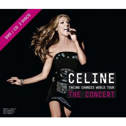 VINYLO.SK | DION, CELINE - TAKING CHANCES WORLD TOUR: THE CONCERT [CD + DVD]