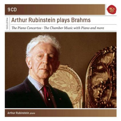 VINYLO.SK   BRAHMS, J. - THE RUBINSTEIN COLLECTION - VOL. 41 / BOX [9CD]
