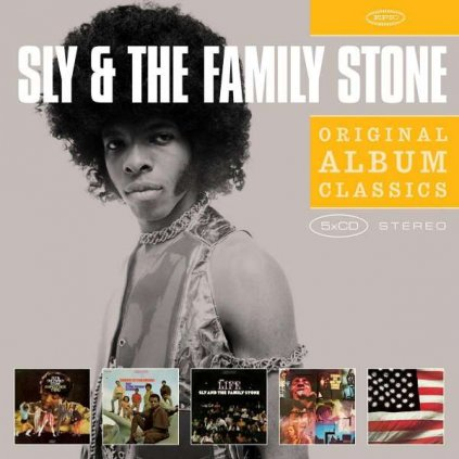 VINYLO.SK | SLY & THE FAMILY STONE - DANCE TO THE MUSIC [5CD]