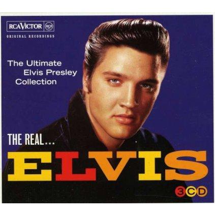 VINYLO.SK | PRESLEY, ELVIS - THE REAL... ELVIS (THE ULTIMATE ELVIS PRESLEY COLLECTION) [3CD]