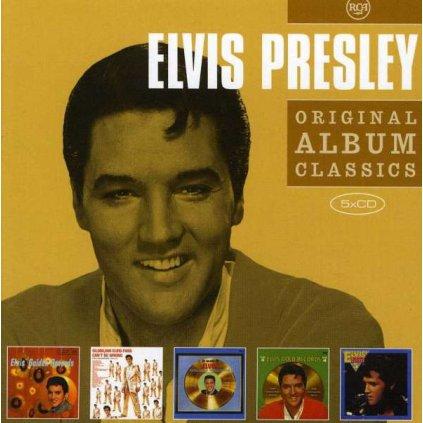 VINYLO.SK | PRESLEY, ELVIS - ORIGINAL ALBUM CLASSICS2 [5CD]