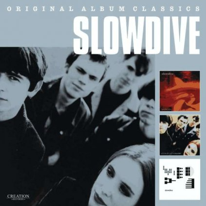 VINYLO.SK | SLOWDIVE - ORIGINAL ALBUM CLASSICS [3CD]