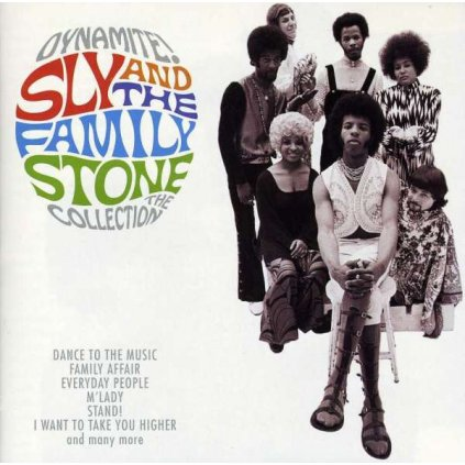 VINYLO.SK | SLY & THE FAMILY STONE - DYNAMITE! THE COLLECTION [CD]