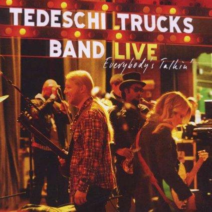 VINYLO.SK | TEDESCHI TRUCKS BAND - EVERYBODY'S TALKIN' [2CD]