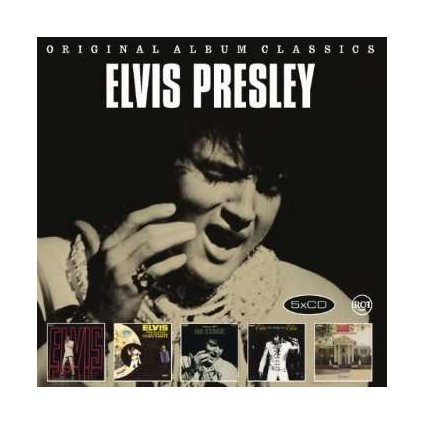 VINYLO.SK | PRESLEY, ELVIS - ORIGINAL ALBUM CLASSICS 4 [5CD]