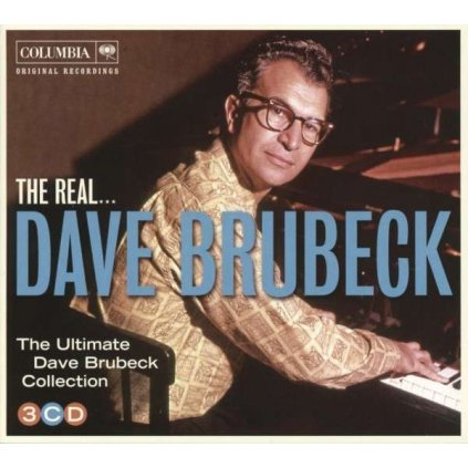 VINYLO.SK | BRUBECK, DAVE - THE REAL… DAVE BRUBECK [3CD]
