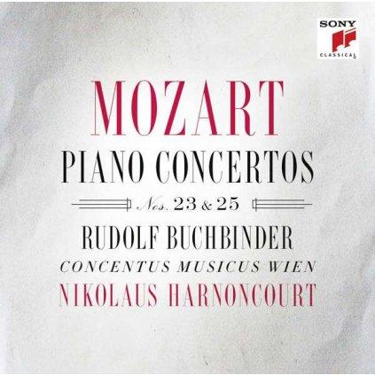 VINYLO.SK   MOZART, W.A. - MOZART · PIANO CONCERTOS NOS. 23 & 25 [CD]