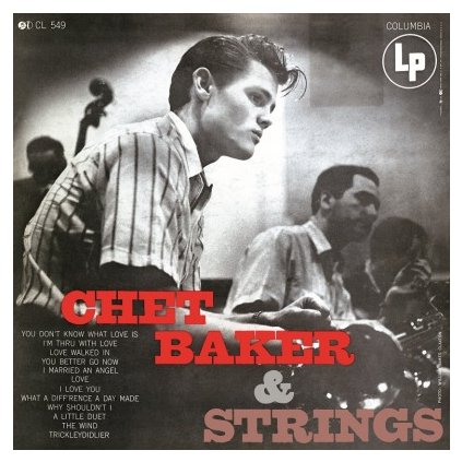 VINYLO.SK | BAKER, CHET - WITH STRINGS (LP)180GR. AUDIOPHILE PRESSING