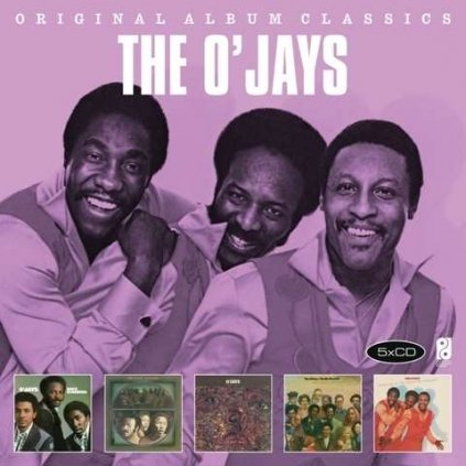 VINYLO.SK | O'JAYS - ORIGINAL ALBUM CLASSICS [5CD]