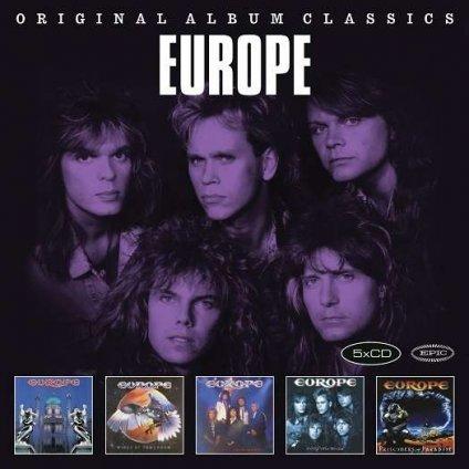 VINYLO.SK | EUROPE - ORIGINAL ALBUM CLASSICS [5CD]