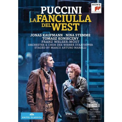 VINYLO.SK | PUCCINI, G. - LA FANCIULLA DEL WEST [DVD]
