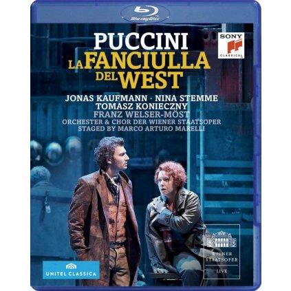 VINYLO.SK | PUCCINI, G. - LA FANCIULLA DEL WEST [Blu-Ray]