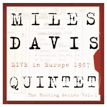 VINYLO.SK | DAVIS, MILES - BOOTLEG SERIES 1:LIVE IN EUROPE 1967 (5LP).. IN EUROPE 1967 / 5LP BOX + 16.P BOOKLET