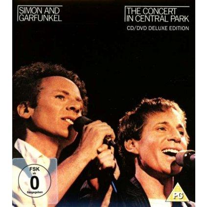 VINYLO.SK | SIMON & GARFUNKEL - THE CONCERT IN CENTRAL PARK [CD + DVD]