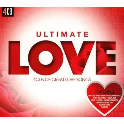 VINYLO.SK   Rôzni interpreti - ULTIMATE... LOVE [4CD]
