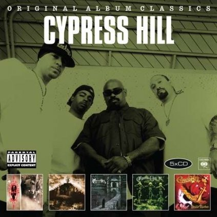 VINYLO.SK | CYPRESS HILL - ORIGINAL ALBUM CLASSICS2 [5CD]