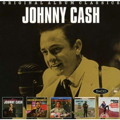 VINYLO.SK | CASH, JOHNNY - ORIGINAL ALBUM CLASSICS3 [5CD]