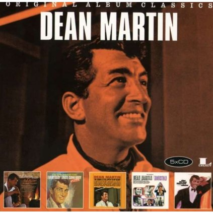 VINYLO.SK | MARTIN, DEAN - ORIGINAL ALBUM CLASSICS [5CD]