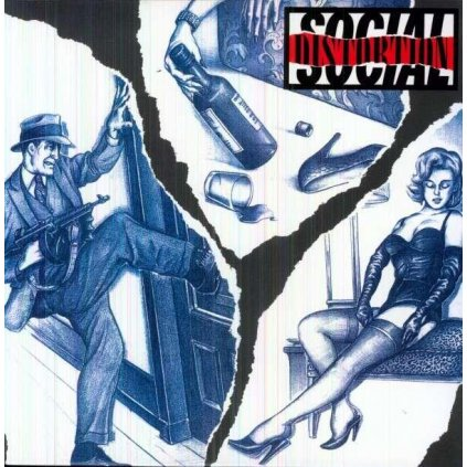 VINYLO.SK | SOCIAL DISTORTION - SOCIAL DISTORTION [LP] 180g AUDIOPHILE PRESSING / INSERT