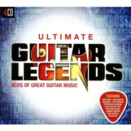 VINYLO.SK | Rôzni interpreti - ULTIMATE GUITAR LEGENDS [4CD]