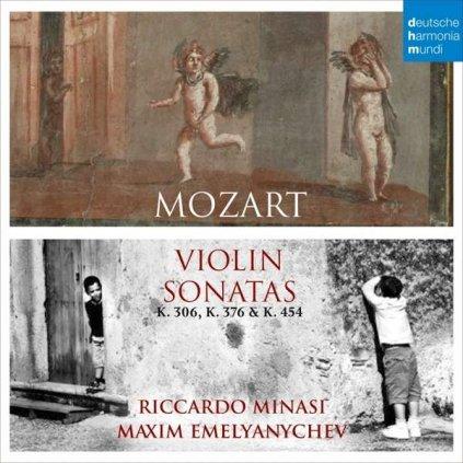 VINYLO.SK   MOZART, W.A. - VIOLIN SONATAS [CD]