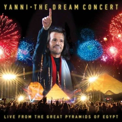 VINYLO.SK | YANNI - THE DREAM CONCERT - LIVE FROM THE GREAT PYRAMIDS OF EGYPT [CD + DVD]