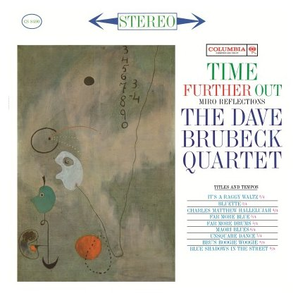 VINYLO.SK | BRUBECK, DAVE -QUARTET- - TIME FURTHER OUT (LP)180 GRAM AUDIOPHILE PRESSING
