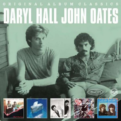 VINYLO.SK | HALL & OATES - ORIGINAL ALBUM CLASSICS [5CD]