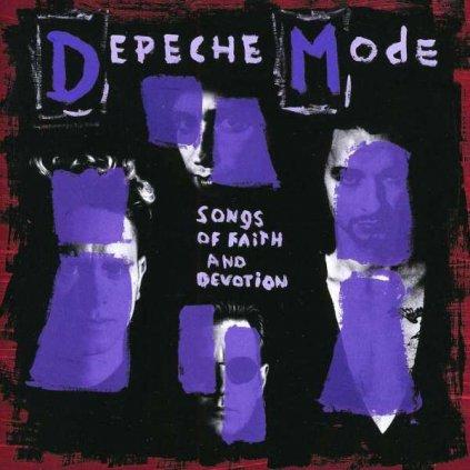 VINYLO.SK | DEPECHE MODE - SONGS OF FAITH AND DEVOTION [CD]