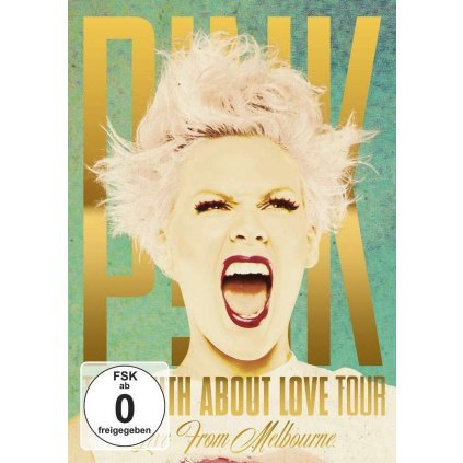 VINYLO.SK | PINK - THE TRUTH ABOUT LOVE TOUR: LIVE FROM MELBOURNE [DVD]