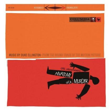 VINYLO.SK | ELLINGTON, DUKE - ANATOMY OF A MURDER (OST) (LP)..MURDER (OST)//180GR/60TH ANN/1000 CPS TRANSPARENT RED