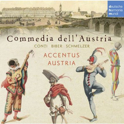 VINYLO.SK | ACCENTUS AUSTRIA - COMMEDIA DELL'AUSTRIA [CD]