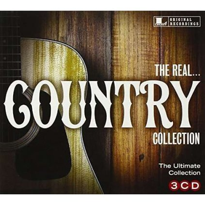 VINYLO.SK | Rôzni interpreti - THE REAL... COUNTRY COLLECTION [3CD]