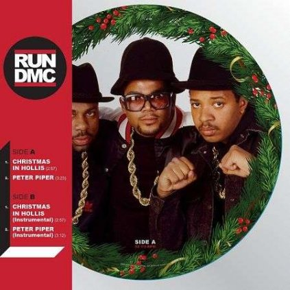 VINYLO.SK   RUN DMC - CHRISTMAS IN HOLLIS / PICTURE DISC [LP]