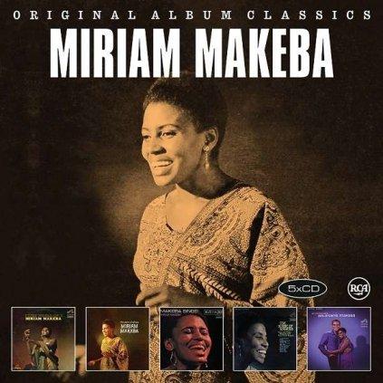 VINYLO.SK | MAKEBA, MIRIAM - ORIGINAL ALBUM CLASSICS [5CD]
