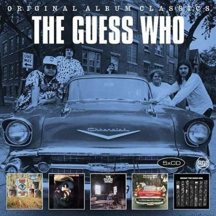 VINYLO.SK | GUESS WHO - ORIGINAL ALBUM CLASSICS [5CD]
