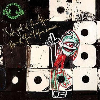 VINYLO.SK | A TRIBE CALLED QUEST - WE GOT IT FROM HERE… THANK YOU 4 YOUR SERVICE [CD]