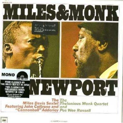 VINYLO.SK   Davis Miles ♫ Miles & Monk At Newport [LP] Vinyl 8718469534524