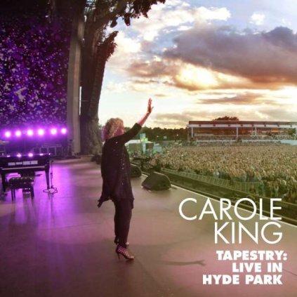 VINYLO.SK | KING, CAROLE - TAPESTRY: LIVE IN HYDE PARK [CD + DVD]