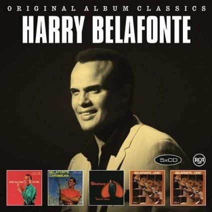 VINYLO.SK | BELAFONTE, HARRY - ORIGINAL ALBUM CLASSICS [5CD]