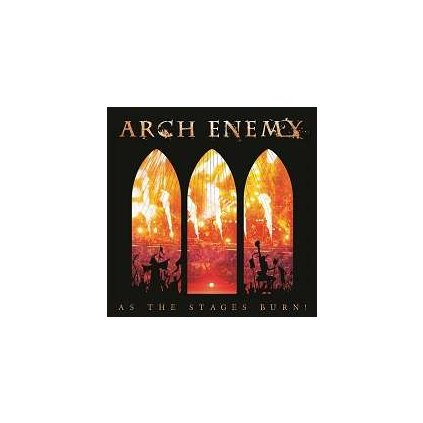 VINYLO.SK   ARCH ENEMY - AS THE STAGES BURN! [2LP + DVD]