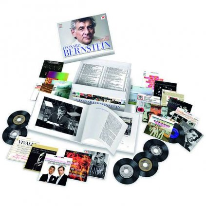 VINYLO.SK | BERNSTEIN, LEONARD - THE REMASTERED EDITION / BOX [100CD]