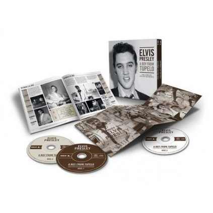 VINYLO.SK | PRESLEY, ELVIS - A BOY FROM TUPELO: THE COMPLETE 1953-1955 RECORDINGS / BOX [3CD]