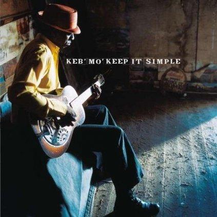 VINYLO.SK | KEB'MO' - KEEP IT SIMPLE [LP] 180g AUDIOPHILE VINYL / INCL. INSERT / 1ST.TIME ON VINYL