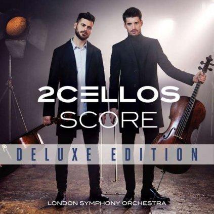 VINYLO.SK | TWO CELLOS - SCORE / Deluxe [CD + DVD]